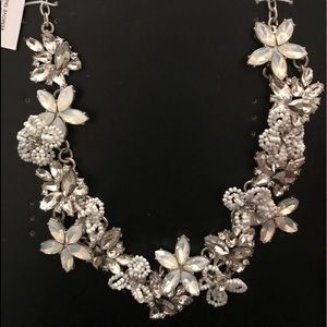 Snowflower Statement Necklace